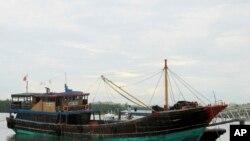 Kapal nelayan China di Filipina