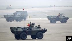 台灣反空降軍演 (資料圖片)