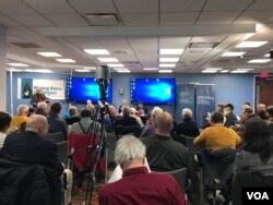 Buổi hội luận của các học giả sử học tại Đại học George Washington, ngày 15 tháng 11, 2019.