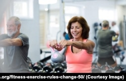 Middle Aged Exercise