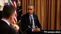 د گلوپ د بنسټ یوه سروی ښي چې په امریکا کې یوازی دیرش فیصده امریکاییان د داعش په وړاندې د جمهور رئیس له ستزاتیژۍ څخه راضي دي.