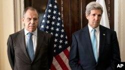 El secretario de Estado, John Kerry, se reunió seis horas sin resultados con el canciller ruso, Sergei Lavrov.