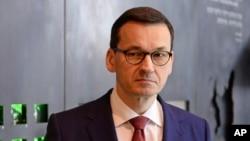 Матеуш Моравєцький, прем'єр-міністр Польщі