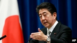 日本首相安倍晋三