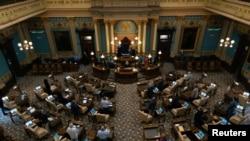 Заседание Сената штата Мичиган (архивное фото)