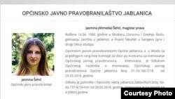 Jasmina Šehić
