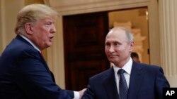 Trump နဲ႔ Putin ဇူလိုင္ ၁၆ တုန္းက ေတြ႔ဆံုစဥ္