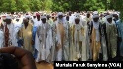 Hawan Sallah a Sokoto yau 1 ga watan Satumba, 2017