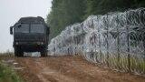 На белорусско-польской границе. 26 августа , 2021.
