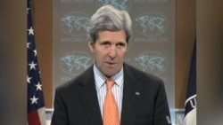 Kerry Slams Syrian Efforts to Change Focus of Geneva Peace Talks