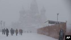 Москва, Россия. 4 февраля 2013 года