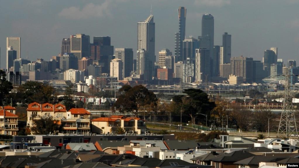 Một góc thành phố Melbourne, Australia. Tòa án ở thành phố này sắp tới sẽ quyết định số phận của mẹ con cô Huyen Tran.