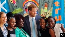 Britanski princ Heri takodje je bio gost na Medjunarodnoj konferenciji za borbu protiv side u Durbanu