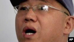 Nhà truyền giáo người Mỹ Kenneth Bae tại Bệnh viện Hữu nghị Bình Nhưỡng. (Ảnh ngày 20/1/2014).