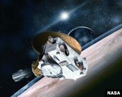 "Апарат НАСА ""Нові Горизонти""."