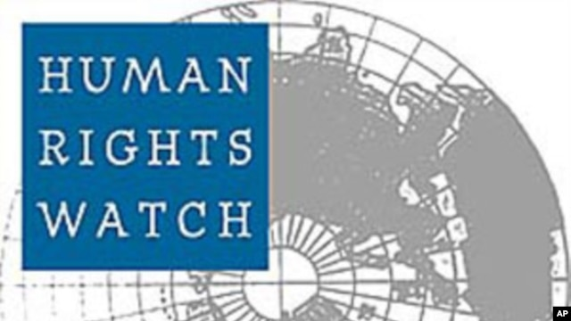 Rights Group Criticizes Some Countries for Letting Syrian Crackdown Continue