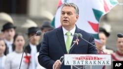 Hongaria di bawah pimpinan Perdana Menteri Viktor Orban menempati peringkat demokrasi paling rendah di Eropa tengah (foto: ilustrasi).