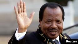 Presiden Kamerun Paul Biya telah memerintah sejak tahun 1982 (foto: dok).