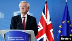 دیوید دیویس، مسئول پیشبرد گفت وگو ها برای خروج بریتانیا