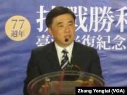 台北市长郝龙斌 (美国之音张永泰拍摄)