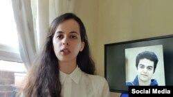 آیدا یونسی خواهر علی یونسی دانشجوی بازداشتی در ایران