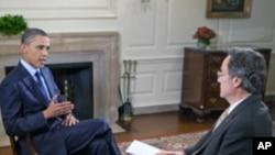 له جمهور رییس اوباما سره ځانګړې مرکه
