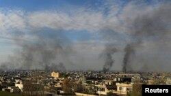 شهرهای بزرگ عراق، پس از نزدیک به سه سال درگیری، با حمایت جنگنده های آمریکا از دست داعش خارج شدند.