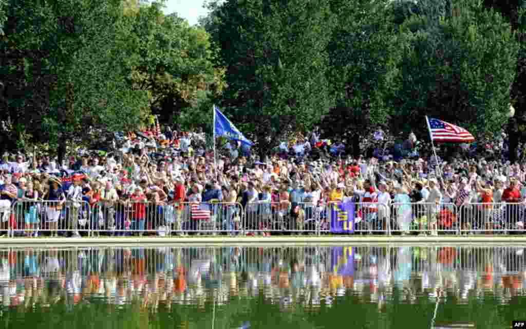 Марши несогласных в Вашингтоне