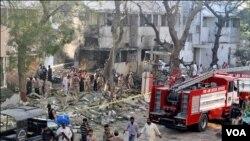 کراچی کے رینجرز ہیڈکواٹرز پر خودکش حملہ
