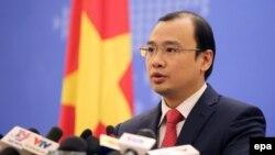 Người phát ngôn Bộ Ngoại Giao Việt Nam ông Lê Hải Bình.