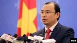 Người phát ngôn Bộ Ngoại giao Việt Nam Lê Hải Bình.