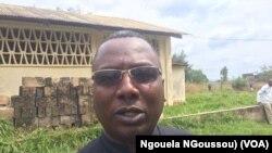 L'abbé Paraclet Moutila de Mandza Ndounga, Pool, Congo, 18 juin 2018. (VOA/Ngouela NGoussou)