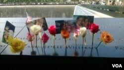 民眾悼念9-11遇難者