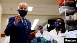 U.S. President Joe Biden at the NIH
