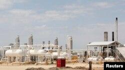 Unidade de produção de gás (foto de arquivo)