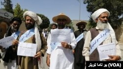 UNAMA welcomes Helmand Peace Marchers in Kabul