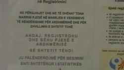 Fillon regjistrimi i popullsise ne Maqedoni