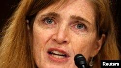 La próxima embajadora de EE.UU., ante la ONU, Samantha Power, dijo en el Senado que combatirá la represión en Venezuela, Cuba, Irán y Rusia.