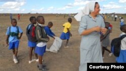 A Roman Catholic nun caught in action with children in Mashonaland West Province