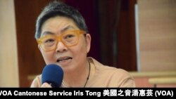 香港前立法會法律界議員吳靄儀 (攝影:美國之音湯惠芸)