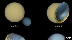 Teori e re: Toka ka pasur më parë 2 Hëna