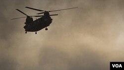 Los talibanes se atribuyen el derribo del helicóptero.
