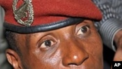 Moussa Dadis Camara, ex-chef de le junte guinéenne