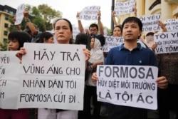 Kết cục vụ cá chết miền Trung: dân đòi truy tố, đóng cửa Formosa
