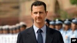 Assad tomó posesión de su cargo, este miércoles, durante una ceremonia en Damasco.