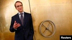 Presiden bank sentral Jerman atau Bundesbank, Jens Weidmann di kantor pusat di Frankfurt (foto: ilustrasi). Bundesbank mengusulkan agar usia pensiun di Jerman dinaikkan.
