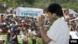 El representante del gobierno remarcó que la orden del operativo no fue dada por el presidente Evo Morales.