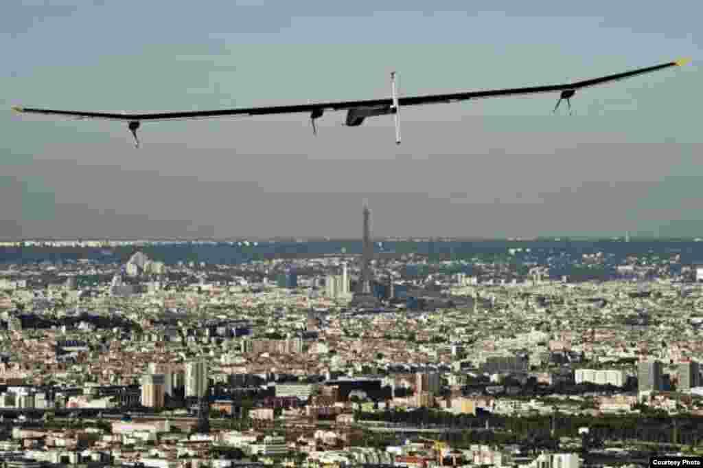 """""""Solar Impulse""""un ümumi görünüşü"""