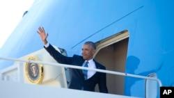 Президент Обама відбуває до Канади