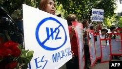 Demonstrasi menentang undang-undang 'lese majeste' di Thailand. (Foto: Dok)